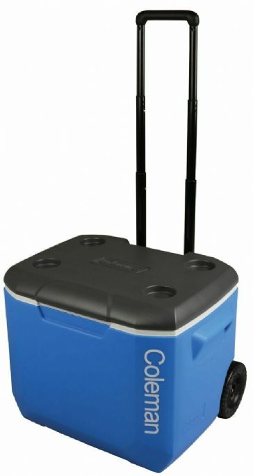 Coleman  60QT Performance Wheeled Camping Cooler Blue 56L
